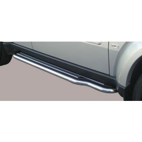 Sidebars - Dodge Nitro - Long - Sidesteps - 50mm