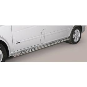 Design sidebars Mercedes Viano SWB vanaf 2010