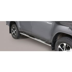Sidebars Toyota Hilux D.C. 2016 - Design