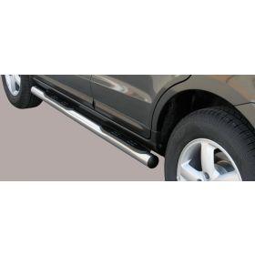 Sidebars Hyundai Santa Fe 2006-2010 Sidesteps 76mm