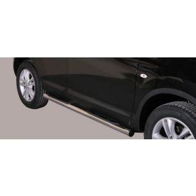 Sidebars Nissan Qashqai 2010 76mm