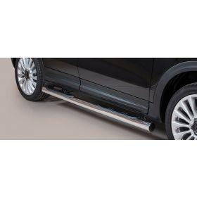 Sidebars Fiat 500 X 2015 - Rond