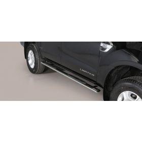 Sidebars Ford Ranger D.C. vanaf 2012 - Ovaal