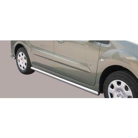 Sidebars Peugeot Partner 63mm