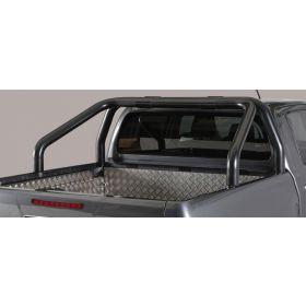 Roll bar Toyota Hilux 2016 - 2 buizen - Zwart