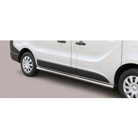 Sidebars Opel Vivaro SWB 2014 - Rond