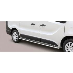 Sidebars Opel Vivaro SWB 2014 - Ovaal